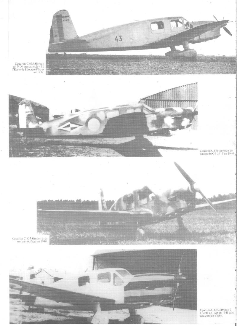 CAUDRON C-635 Simoun  (version Raid Paris-Tokyo). 1937  Heller 1/72. 00110