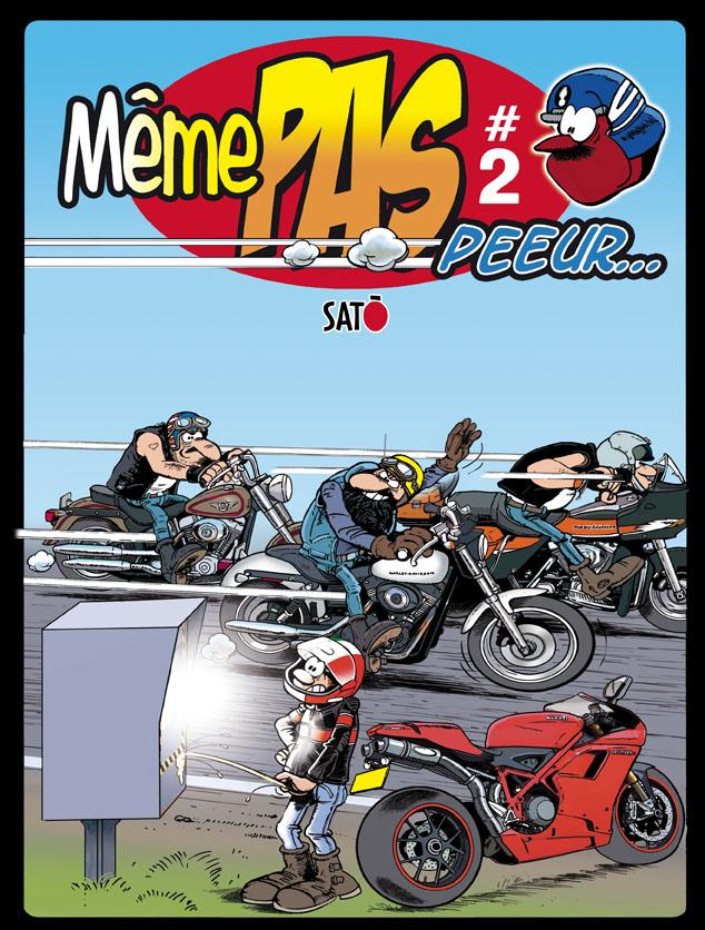 Bandes dessinées moto Br-fa210