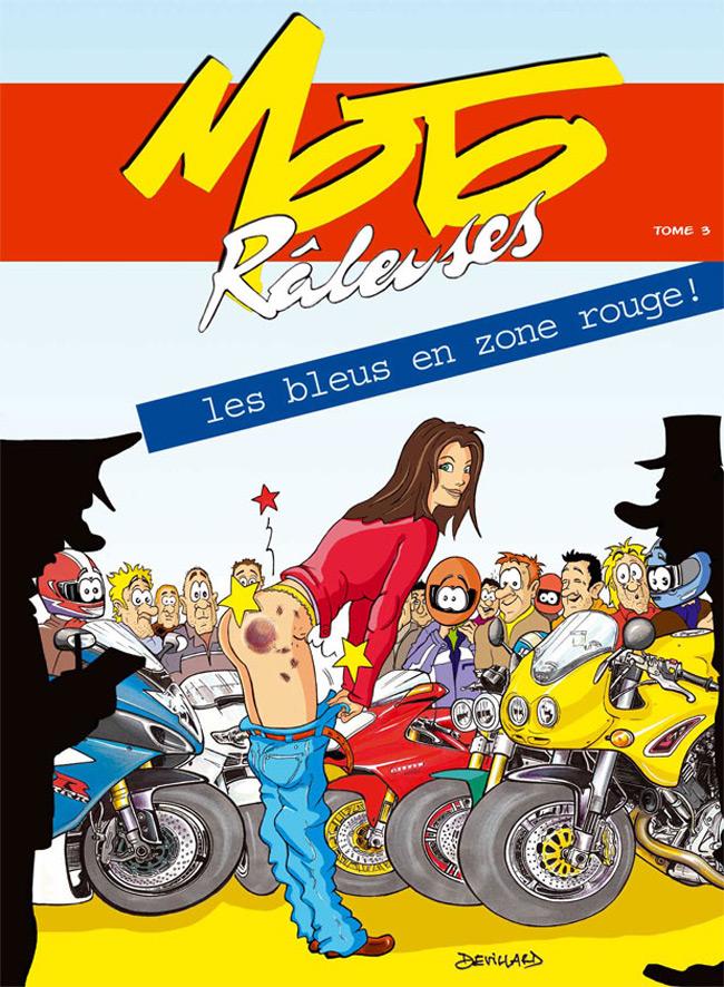 Bandes dessinées moto Tome3-10