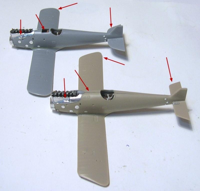Montage: deux Pfalz D-III / D-IIIa et demi,  1/72 - Page 2 Montag25