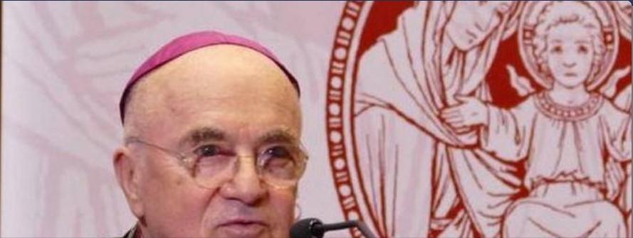 François utilise le mensonge pour soumettre l'Église au monde Vigano10