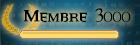 3000ème membre