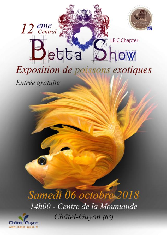 Auvergne Betta Club 2018 Affich11