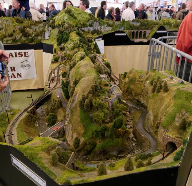 14ème salon du train miniature Orléans les 8 & 9 Novembre Prints24