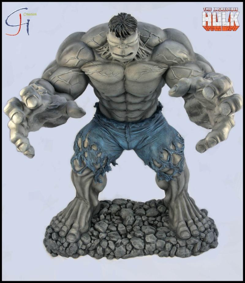Travaux de JGCreation... (Sculpture Yoda p8) - Page 2 Hulk_g10