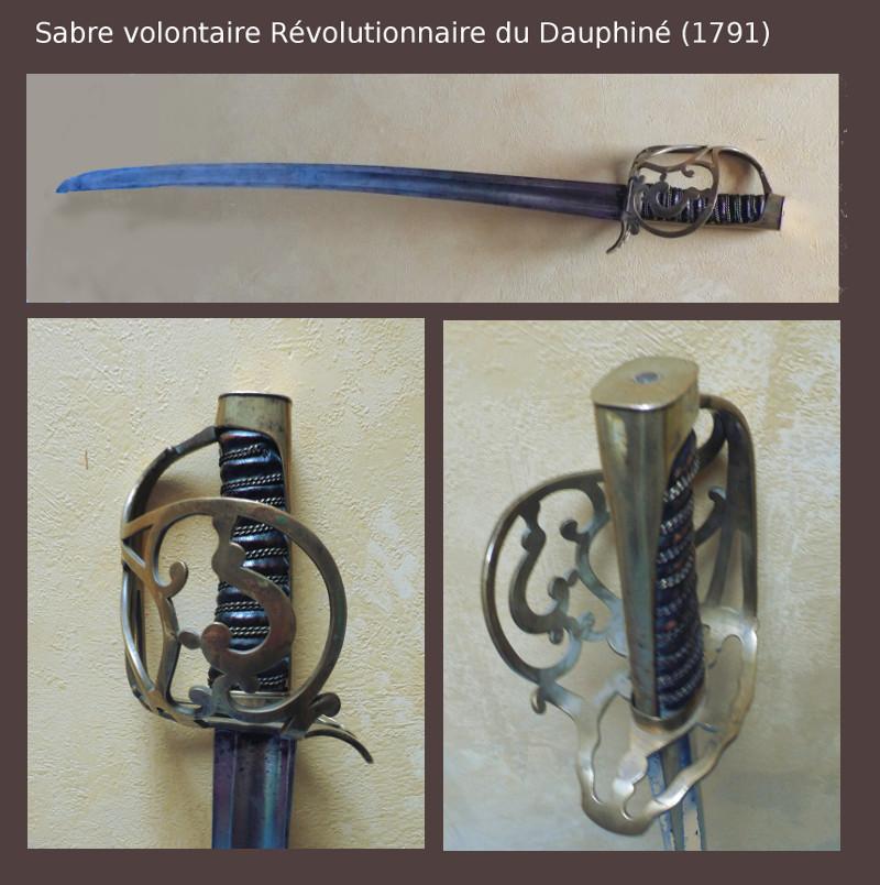 Sabre d'officier volontaire révolutionnaire du Dauphiné Vol_da10