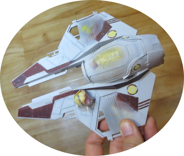 eta-2 actis-class light interceptor  - Version Revell - Page 4 Dessus12