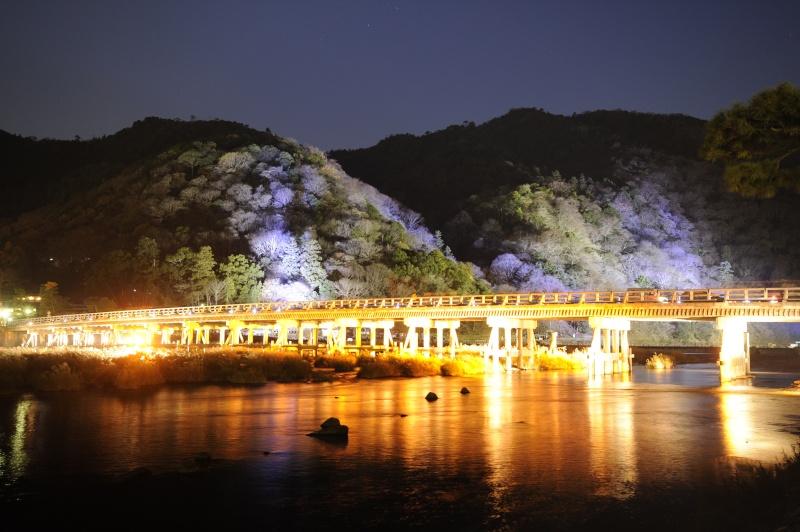 Kyoto - Japon : l'étonnante fête des lumières d'Arashiyama 310