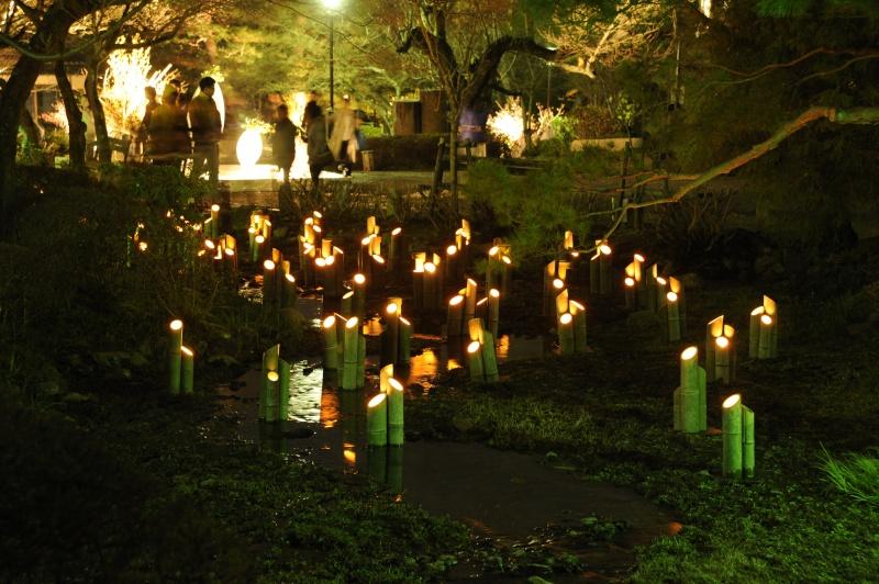 Kyoto - Japon : l'étonnante fête des lumières d'Arashiyama 410