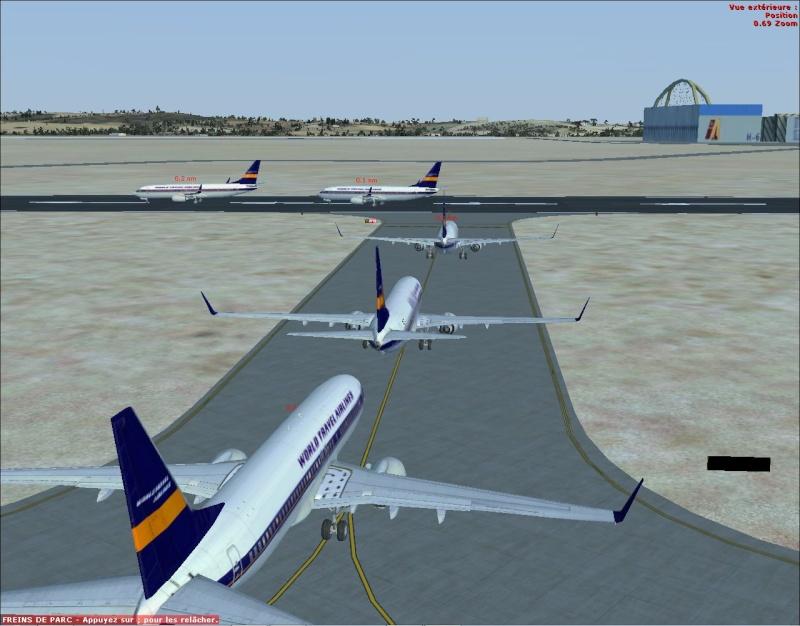 rapport du vol en formation en  737 de LEMD -----LFBG Patrou10