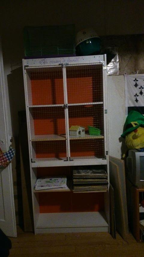 Vends cage faîte maison pour 2 rats ! 16201_10
