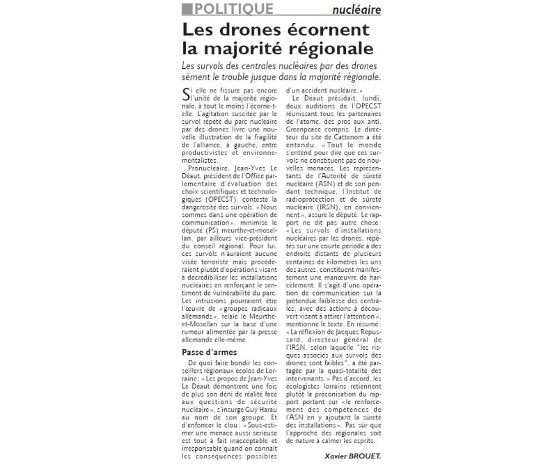 Revue de presse: survols des centrales (sans discussions) - Page 2 Drones10