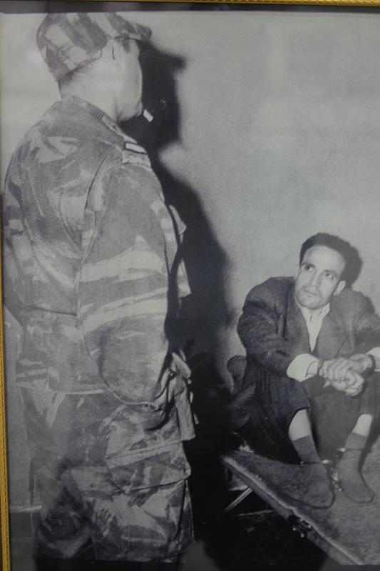 Arrestation du Chahid Larbi Ben Mhidi Benmeh10
