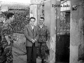Arrestation du Chahid Larbi Ben Mhidi Benmhi12