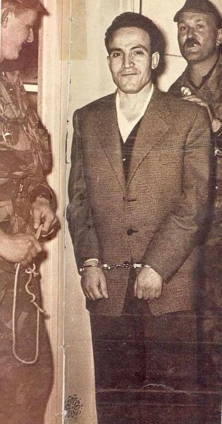 Arrestation du Chahid Larbi Ben Mhidi Benmhi14