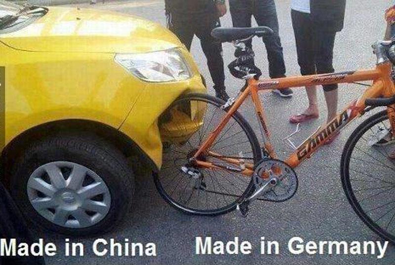 Why buying a German bike? Chinee11