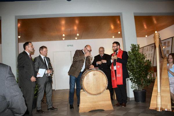 Taufe des Philatelistenweines / Einladung 6a10