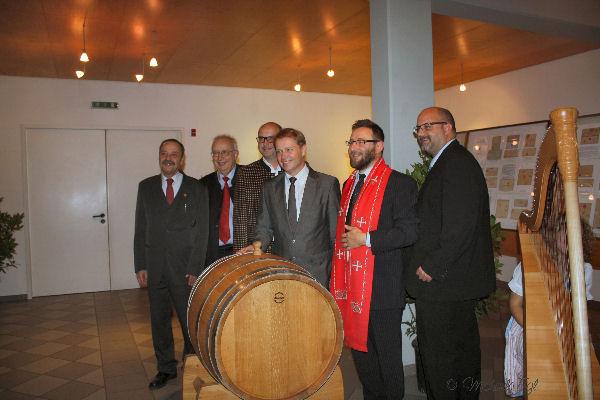 Taufe des Philatelistenweines / Einladung 8a10