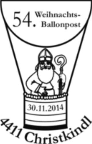 54.Weihnachts-Ballonpostbeförderung in Christkindl Bild131