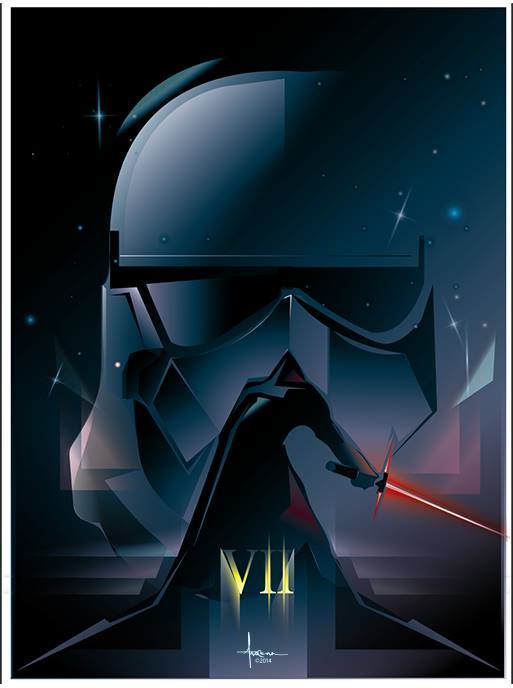 7 - Les posters de Star Wars The Force Awakens - Page 4 10408910