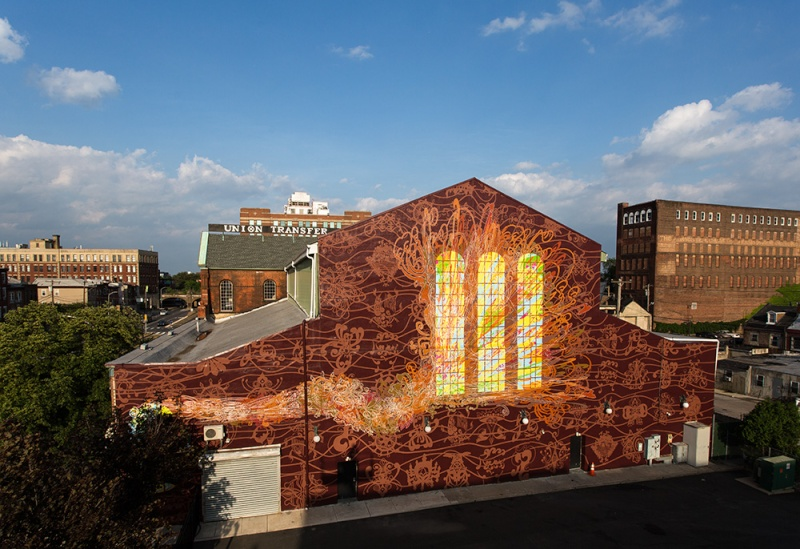 STREETVIEW : les fresques murales de Philadelphie  - Page 14 2014-010