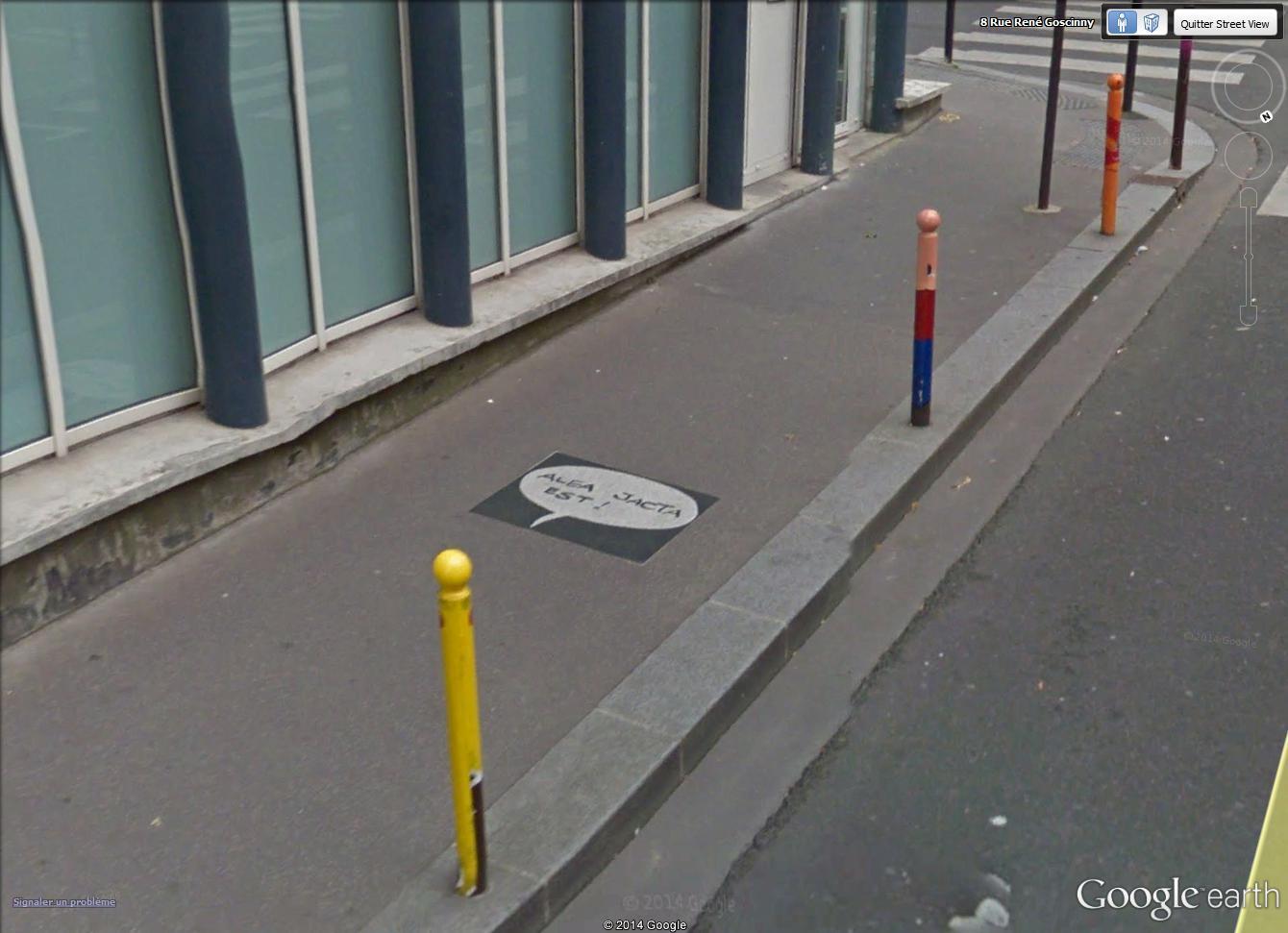 STREET VIEW : Un vrai festival de bulles dans la rue René Goscinny, à Paris Alea_j10