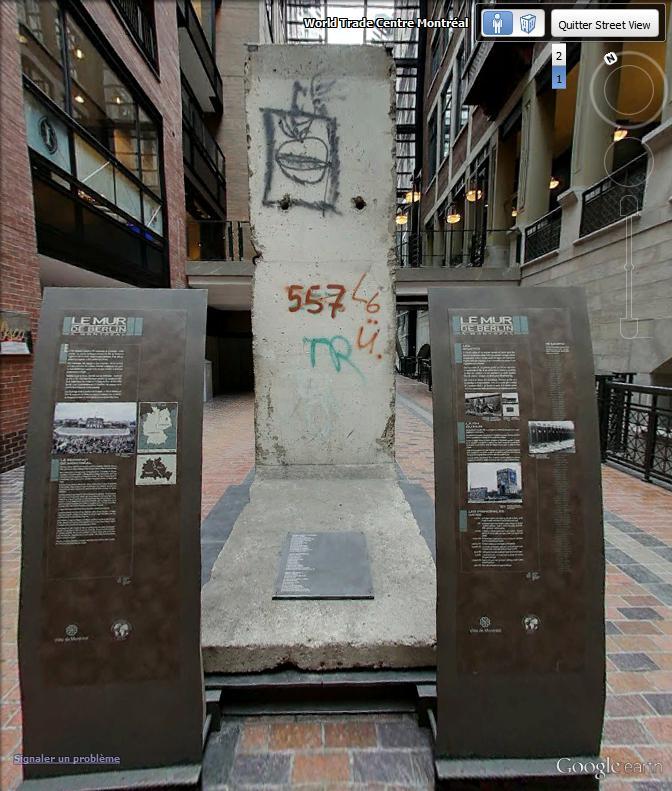 25ème anniversaire de la chute du Mur de Berlin : pans du Mur de Berlin disséminés sur la planète Berlin10