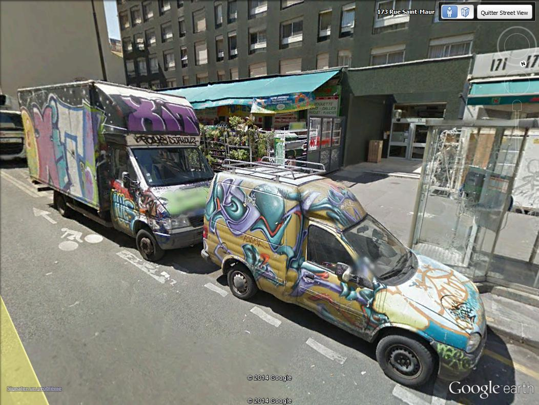 STREET VIEW : street art, grafs, tags et collages - Page 4 Camion13