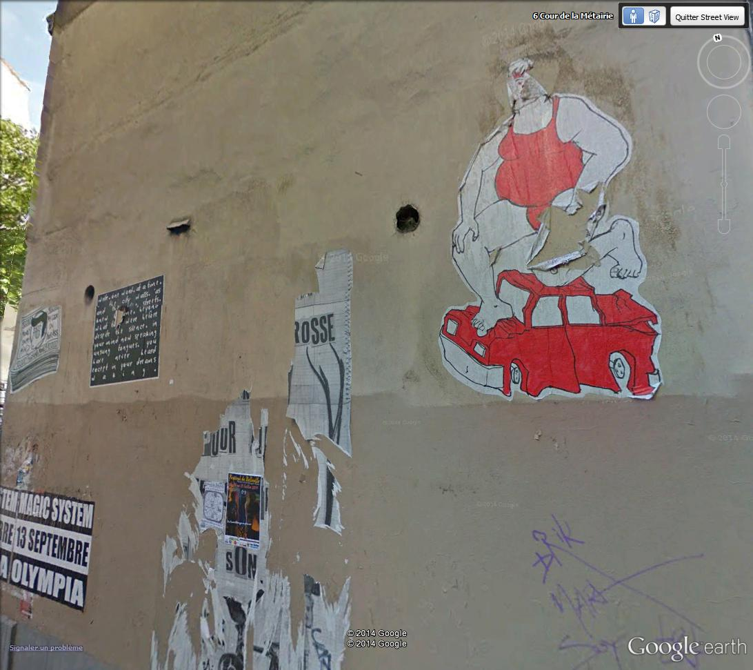 STREET VIEW : street art, grafs, tags et collages - Page 4 Collag10