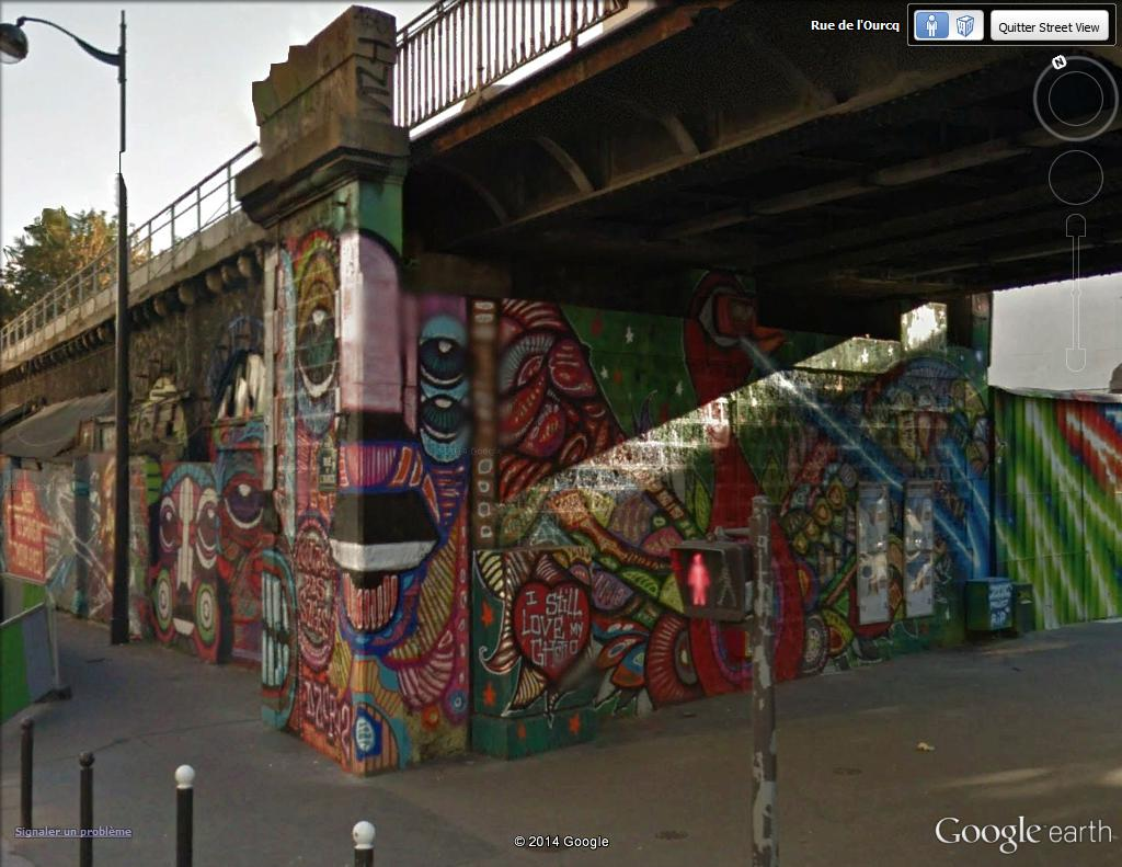 STREET VIEW : street art, grafs, tags et collages - Page 4 Da_cr10