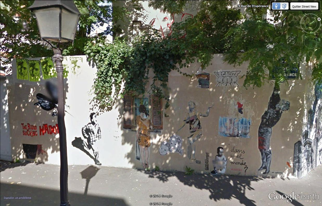 STREET VIEW : street art, grafs, tags et collages - Page 5 Espyra10