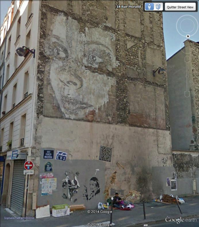 STREET VIEW : street art, grafs, tags et collages Font_110