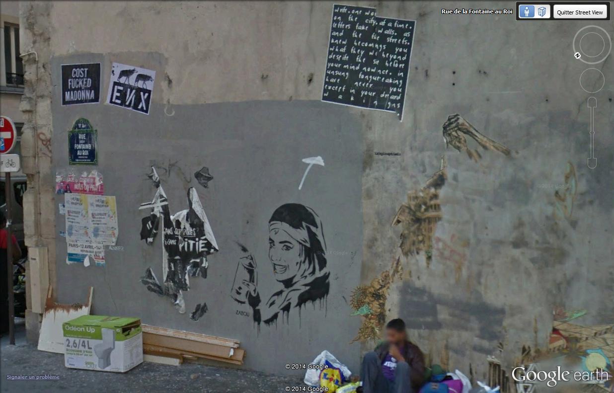 STREET VIEW : street art, grafs, tags et collages Font_111