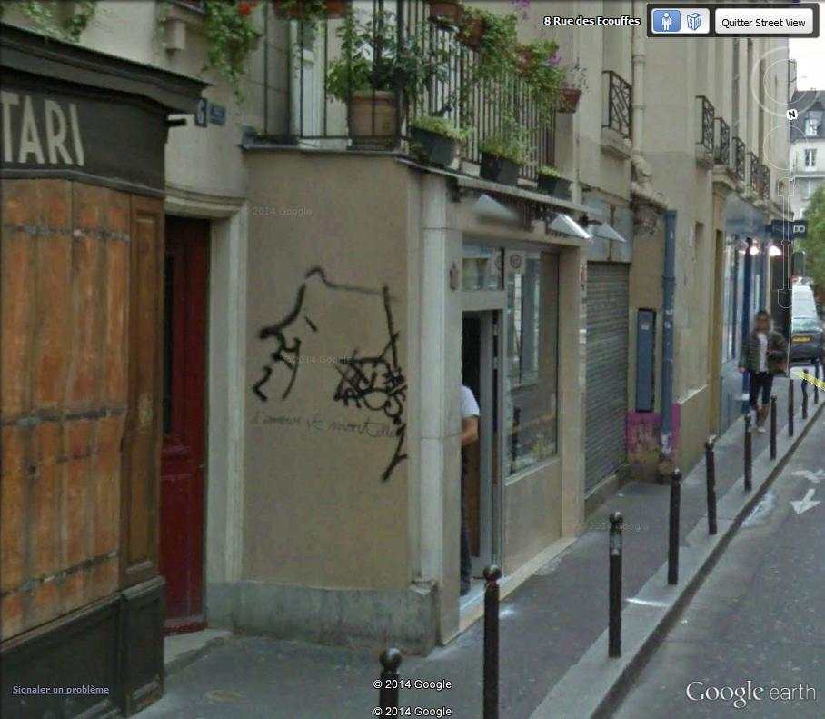 STREET VIEW : street art, grafs, tags et collages France10