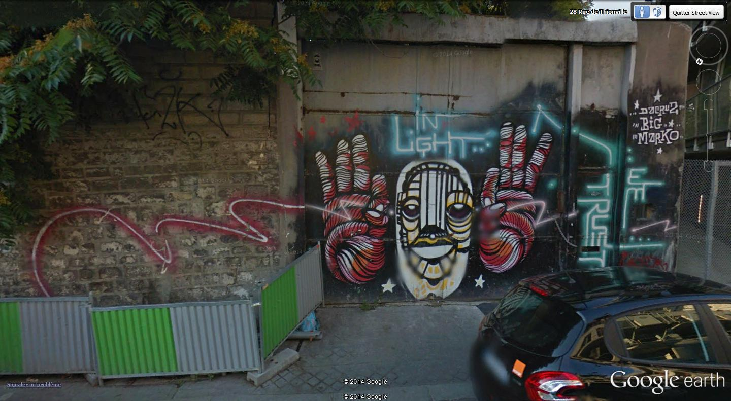 STREET VIEW : street art, grafs, tags et collages - Page 2 In_lig10