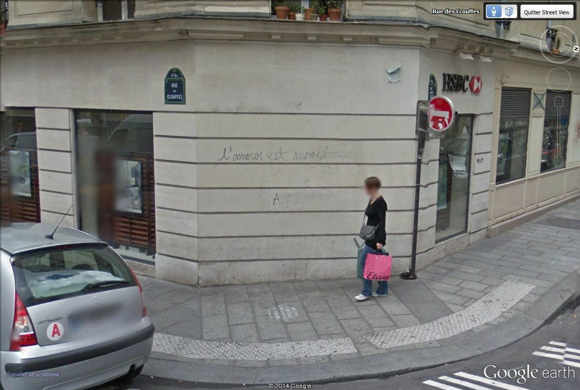STREET VIEW : street art, grafs, tags et collages - Page 2 L_amou10