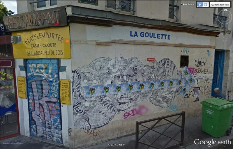 STREET VIEW : street art, grafs, tags et collages La_gou11