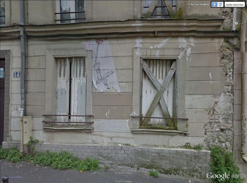 STREET VIEW : street art, grafs, tags et collages Maison10