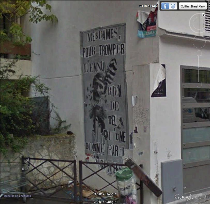 STREET VIEW : street art, grafs, tags et collages Mesdam10