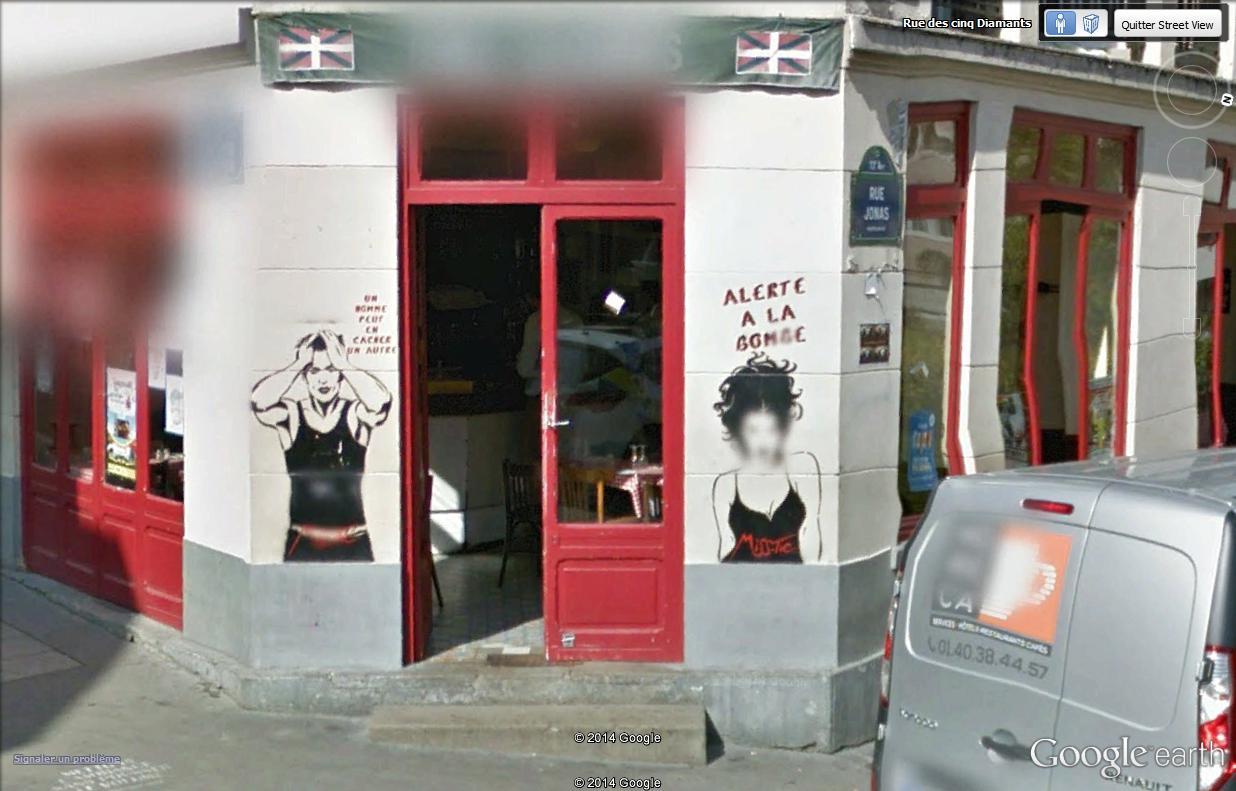 STREET VIEW : street art, grafs, tags et collages Missti11