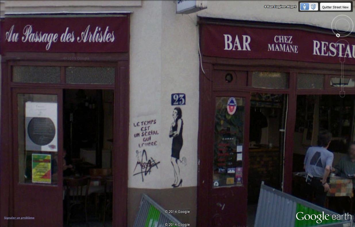 STREET VIEW : street art, grafs, tags et collages Missti12