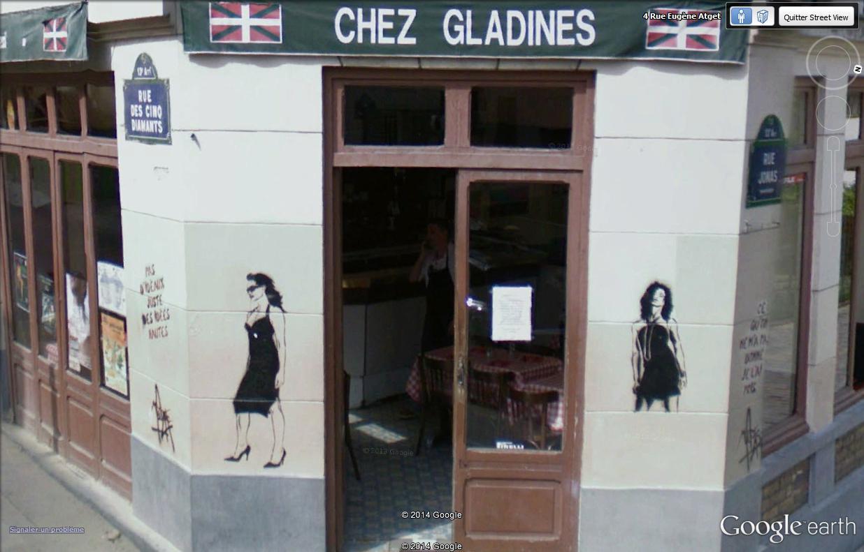 STREET VIEW : street art, grafs, tags et collages Missti13