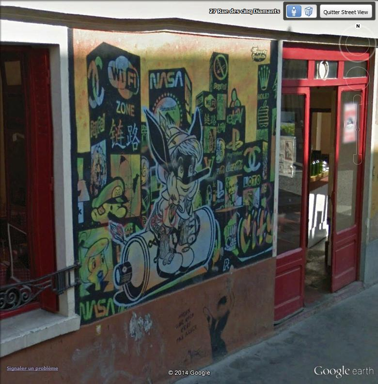 STREET VIEW : street art, grafs, tags et collages - Page 2 Pinoch10