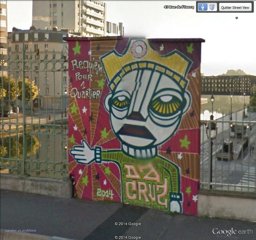 STREET VIEW : street art, grafs, tags et collages Req10