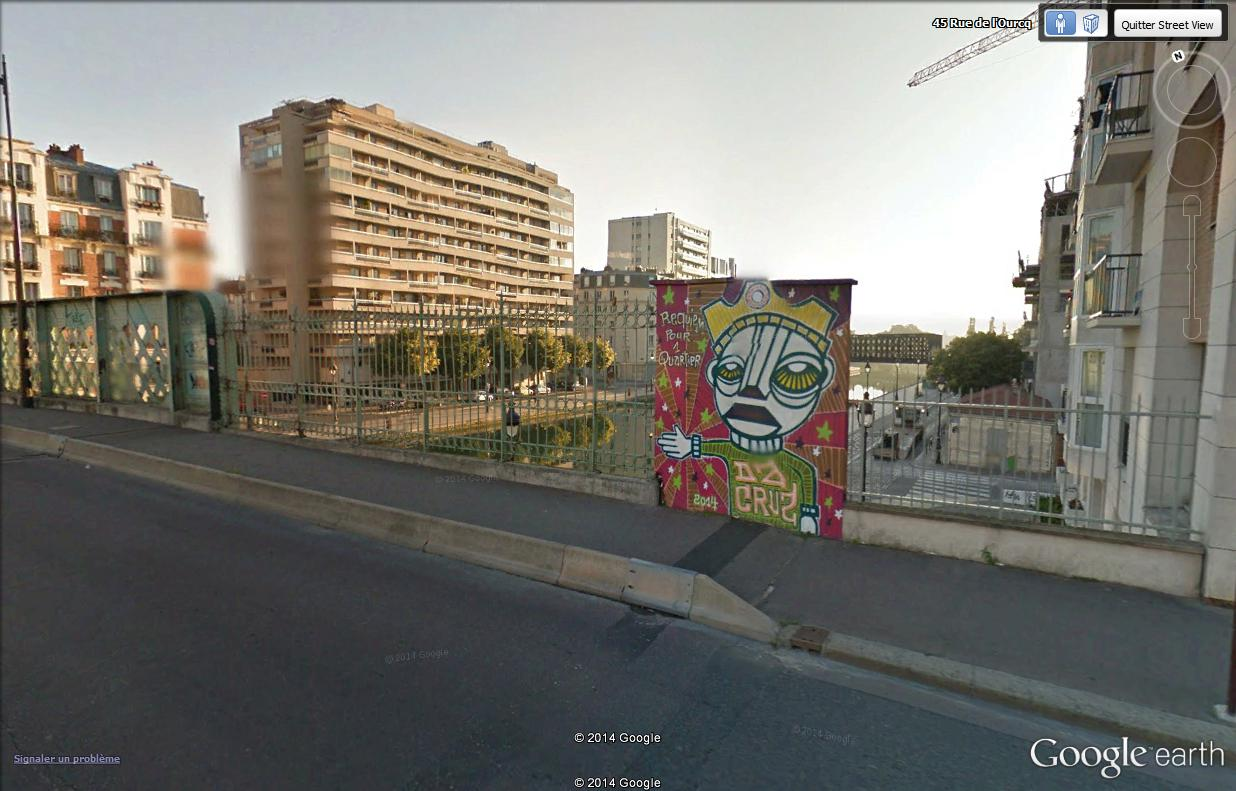 STREET VIEW : street art, grafs, tags et collages Requie10