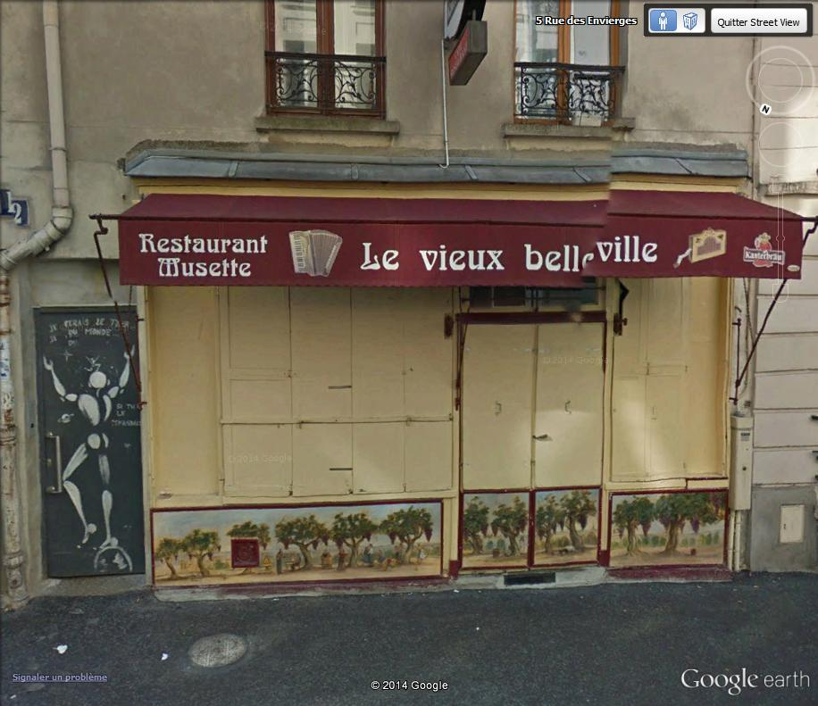 STREET VIEW : street art, grafs, tags et collages - Page 2 Resto_10