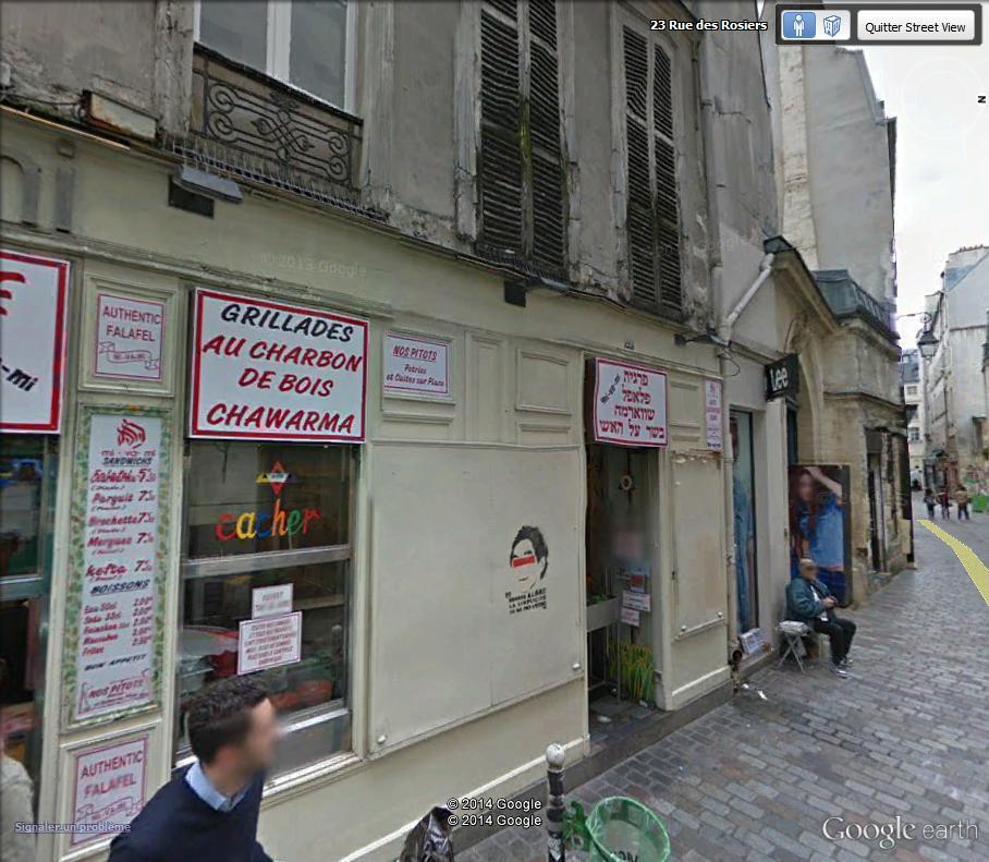 STREET VIEW : street art, grafs, tags et collages Rue_de10