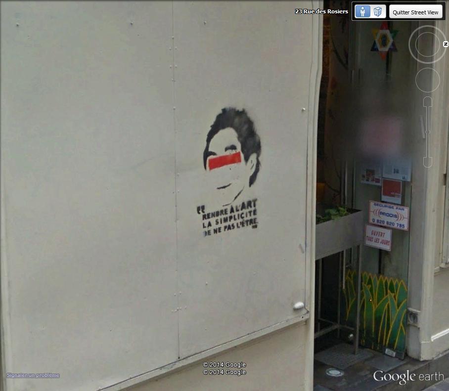 STREET VIEW : street art, grafs, tags et collages Rue_de11