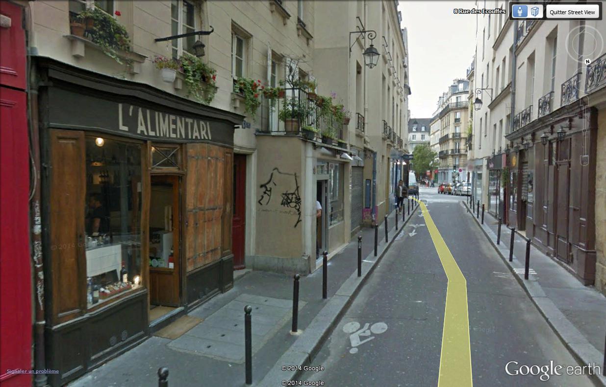 STREET VIEW : street art, grafs, tags et collages Rue_de12