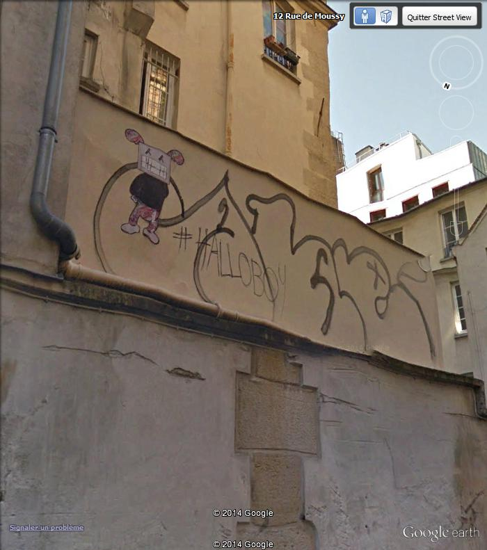 STREET VIEW : street art, grafs, tags et collages - Page 4 Rue_de14